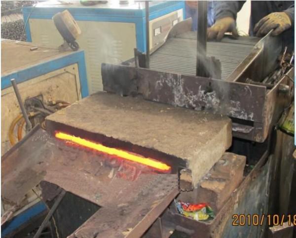中频炉透热锻造应用实例