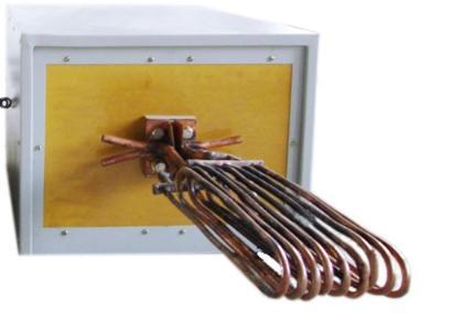 中频炉加热感应线圈与制作方法 1