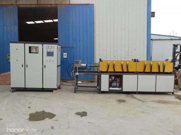淮北锅炉集箱收口设备中频感应加热设备中频炉厂家好设备